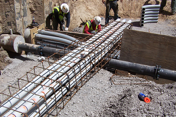 underground infrastructure, pinto construction buffalo ny